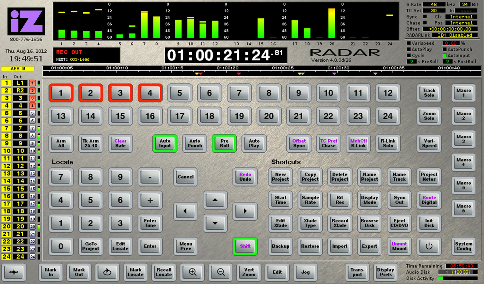 RADAR studio - iZ Technology